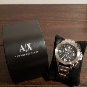 NIB Armani Exchange Chronograph Watch AX1501